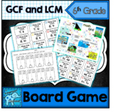 Greatest Common Factor, Least Common Multiple Board Game