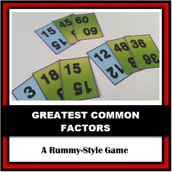 Greatest Common Factor Rummy