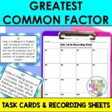 GCF Task Cards
