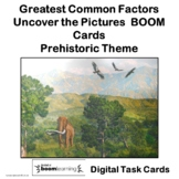 Greatest Common Factor Hidden Picture Digital BOOM Cards
