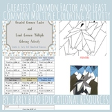 Greatest Common Factor and Least Common Multiple Coloring