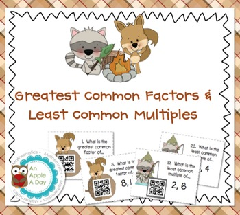 Greatest Common Factors and Least Common Multiples: A File Folder Game