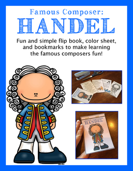Greatest Composer Activities:  Handel