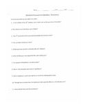 Greatest Discoveries Genetics Movie Outline