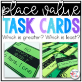 Greatest Least Task Cards {2 Digit Numbers}