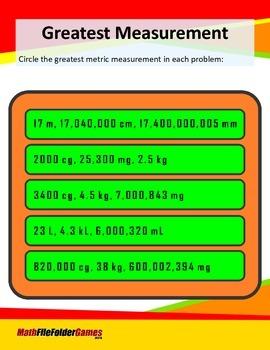Greatest Measurement