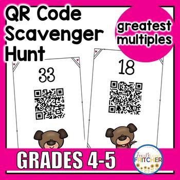 QR Code Scavenger Hunt: Greatest Multiples