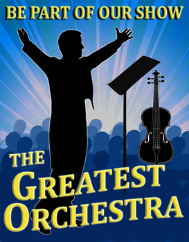 Greatest Orchestra (like Greatest Showman) poster