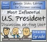 Greatest President Opinion Writing Unit Digital & Print   3rd Grade & 4th Grade