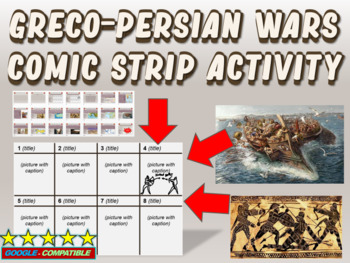 Greco-Persian Wars Comic Strip Activity: an engaging follow-along resource
