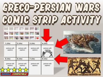Greco-Persian Wars Comic Strip Activity: an engaging follo