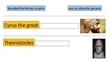 Greco-Persian Wars Interactive Vocabulary