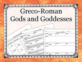 Greco-Roman Gods and Goddesses Lecture, Notes, and Quiz Pack