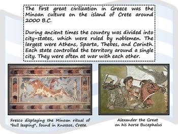 Greece - Greece Mythology - Quiz - Geography and History Powerpoint Presentation