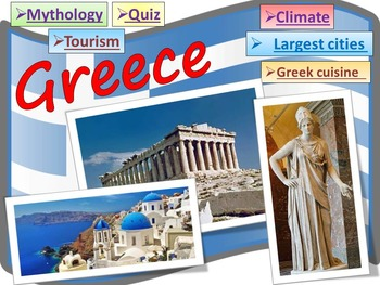 Greece - Greece Mythology - Quiz - Geography and History P