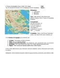 Greece 5 Themes of Geography Team Challenge Project