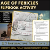 Greece:  Age of Pericles Interactive Notebook