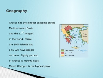 Greece Birthplace of Western Civilization