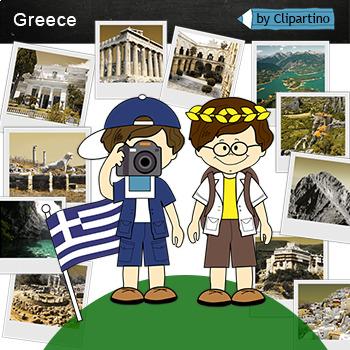 Greece Clipart-Top 11 Tourist Places