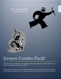 Greece Combo Pack: Percy Jackson Activities (4) & The Last Stand of 300 Movie Qs