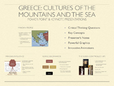 Greece: Cultures of the Mountains & The Sea PowerPoint and Keynote Presentation