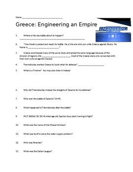 Ancient Greece Timeline   History besides Unlocking Mysteries of the Parthenon   History   Smithsonian furthermore Greece  Engineering an Empire Video Guide by Sagan's History Spot moreover Engineering an Empire TV Review also  further DVD Worksheet Questions   Engineering An Empire   Age of Alexander furthermore al Insute also Ancient Greece   Government  Facts   Timeline   HISTORY besides Consonant Blend Worksheets   Movedar further Greece  Engineering and Empire Video questions by Steven Ni as well Quiz   Worksheet   Legacies of Ancient Greece   Study besides Ancient Europe Facts  Worksheets  Historic Events   Information For together with Rome  Engineering an Empire  TV Movie 2005    IMDb together with Famous Greek people and personalities   Greeka together with Amazon    The History Channel Presents Engineering an Empire besides Ancient Greece vs  Ancient China. on greece engineering an empire worksheet