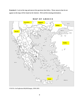 Greece Geography and Culture