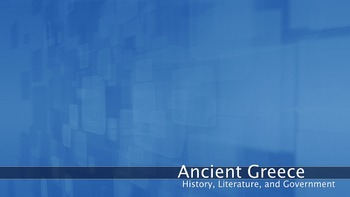 Greece - History, Literature, and Government