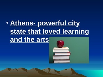 Greece II Vocabulary: Greek Life