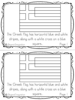 Greece Country Study | 48 Pages for Differentiated Learning + Bonus Pages