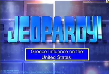 Greece Jeopardy Game