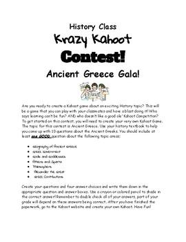 Greece Kahoot Challenge