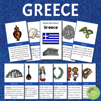 Greece Country Study Learning Pack
