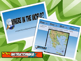 Greece Physical Geography Class GAME: World Scavenger Hunt Activity