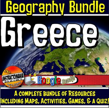 Greece Physical Geography Mini Bundle