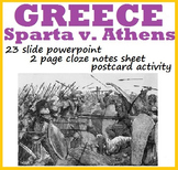 GREECE: Sparta v. Athens