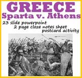 GREECE: Sparta v. Athens