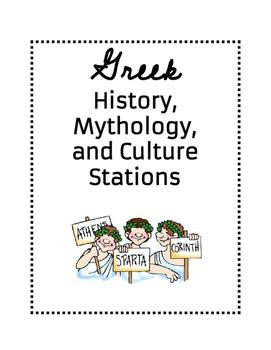 Greece Stations- History, Culture, and Mythology