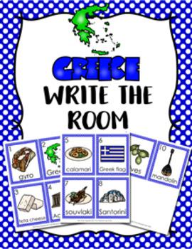 Greece Write the Room