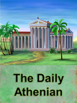 Greece Writing Activity: The Daily Athenian