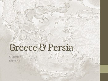 Greece and Persia