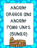 Greece and Rome Unit Bundle