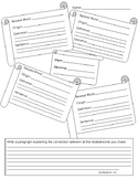 Greek and Latin Stem Word Activity - UDL tiered for readiness