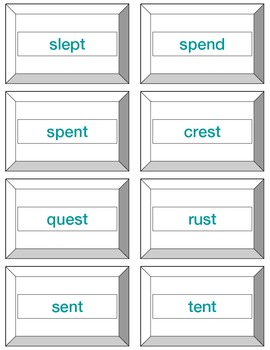 Greedy Game: Initial & Final Blends-Orton Gillingham Phonics/Reading/Spelling