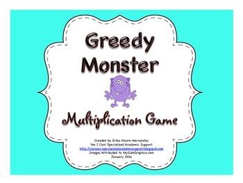 Greedy Monster!  Multiplication Game