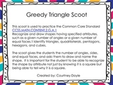 Greedy Triangle Scoot C.C. 2.G.1