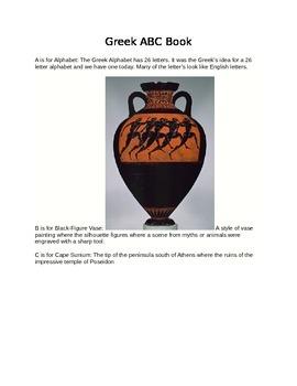 Greek ABC Book Teacher Guide