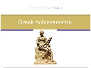 Greek Achievements and Philosophy