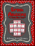 """Greek Allusions """"I Have Who Has"""" Read Around Game"""