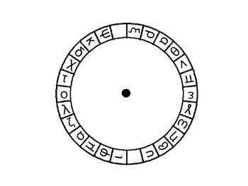 Greek Alphabet Match